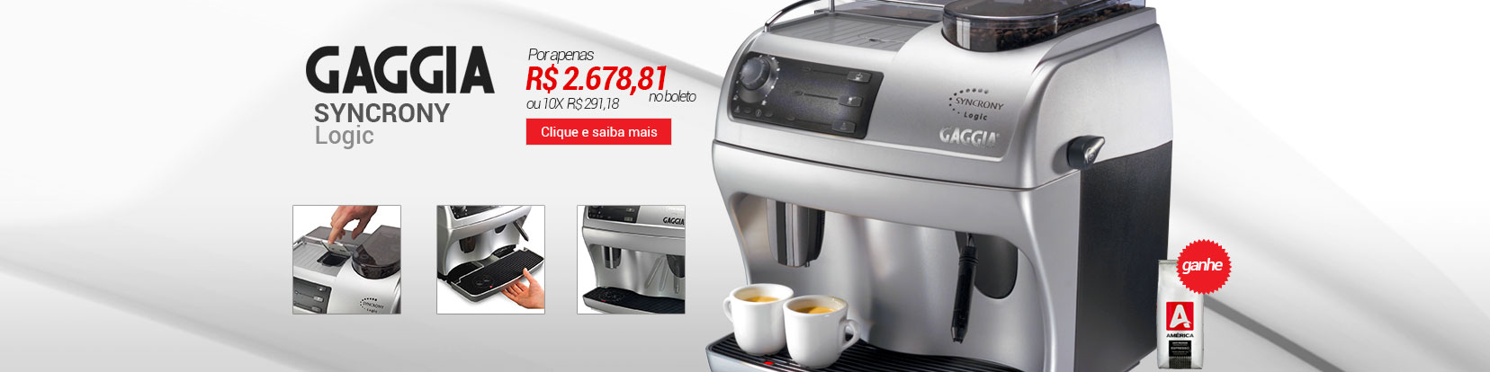 Banner Home Gaggia Syncrony